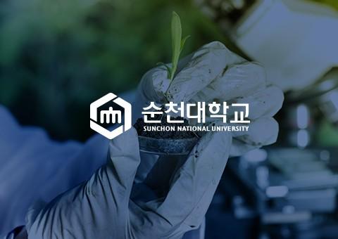순천대학교 학부 리플렛 제작